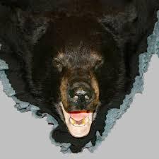 black bear rug rgg1005