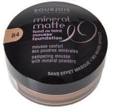 Bourjois Tonal Mineral Matte Mousse Beige Gourmand Cream Foundation No 84