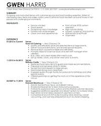 Waitress Resume Best Free Download Sample Objective For Waitress Resume Fishingstudio