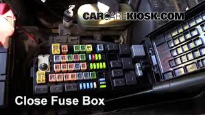 blown fuse check ford expedition ford expedition 6 replace cover secure the cover and test component