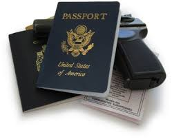 Jason Passports Prop Replicas Bourne's
