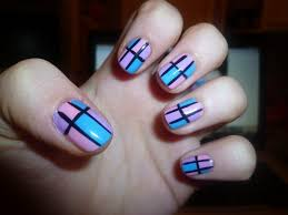 Basic nail art design - how you can do it at home. Pictures ...