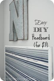 diy headboard for 7