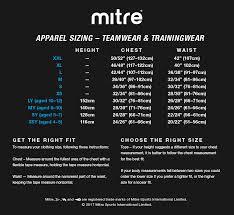 Football Kit Size Guide Junior Football Kit Size Guide