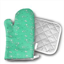 Light Green Combination Amazon Com Zorito Oven Mitt Potholder Japanese Mount Fuji