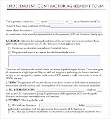 Independent Contractor Agreement Template Independent Contractor Agreement Template Uk