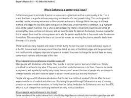 euthanasia essay euthanasia essay conclusion euthanasia essay why is euthanasia such a controversial issue gcse