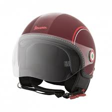Vespa Modernist Helmet Red