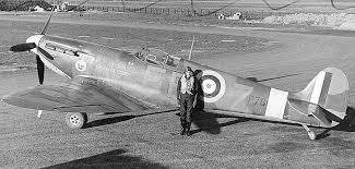 spitfire airplane. spitfire mk iia, p7666, eb-z, \ airplane