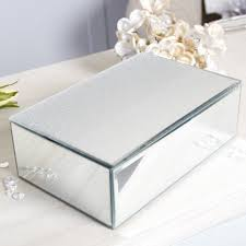mirror jewellery box. this glamorous mirrored jewellery box is perfect for holding all of your favourite pieces in one mirror
