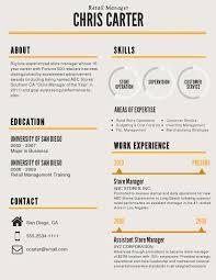 Infographic Resume Template Berathen Com