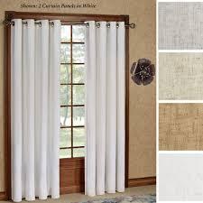 Patio Door Curtain Patio Door Curtain Panels Touch Of Class Windsor Window Gray