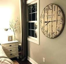 excellent farmhouse wall clocks kitchen