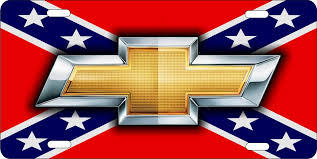 chevy logo with rebel flag. Wonderful Flag Chevrolet Bowtie On Rebel Flag Personalized Novelty Front License Plate  Decorative Vanity Car Tag Inside Chevy Logo With Rebel Flag E