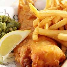 fish and chips in beer batter
