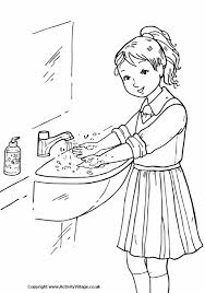 Small Picture Good Habits Colouring Pages for Kids Homemakers Lounge
