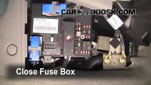 interior fuse box location chevrolet bu  interior fuse box location 2004 2008 chevrolet bu 2006 chevrolet bu ls 2 2l 4 cyl