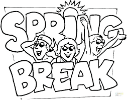 Spring Coloring Pages Printable For Adults Activity Kindergarten