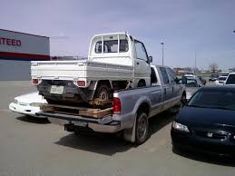 Hauling a Mini in the Back of a Pickup | Japanese Mini Truck Forum