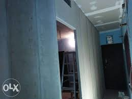 show only image readymade cement wall partition