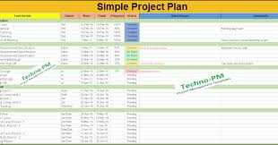 Simple Project Planning Template Simple Project Plan Template Free Download Productivity