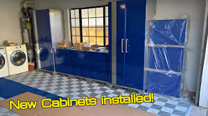 new age cabinets. Delighful New Garage Makeover Part 2  NewAge Performance Plus Cabinets Install YouTube Throughout New Age M