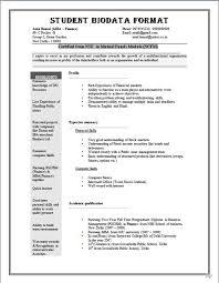 Biodata Format For Job Application - Download Sample Biodata Form