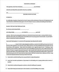 Agreement Form Doc Magnificent Free Arizona Month To Agreement Form Pdf Template Basic R Muygeek