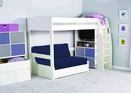 Double Sofa Bed Stompa Unos High Sleeper Frame With Double Sofa Bed Only Boys