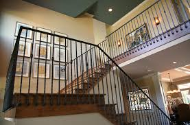 Wrought Iron Stair Railing Indoor