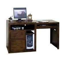 attractive real wood computer desk with small solid wood desk homezanin