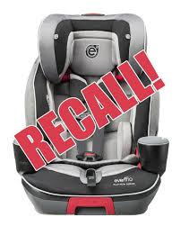 evenflo voluntarily recalled 30 000 evolve 3 in 1 combination booster car seats due to reports of children being able to access the harness adjustment