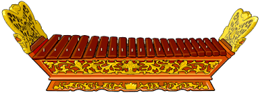 Image result for gambang gamelan