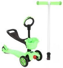 <b>Самокат</b>-каталка <b>Corol 3</b>-<b>х колесный</b> (зеленый) L-306 <b>Самокат</b> ...