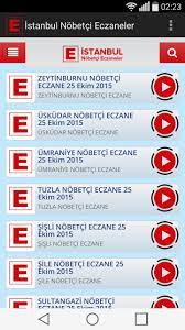 Android için İstanbul Nöbetçi Eczaneler - APK'yı İndir