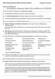 Best Of Resume Examples Teacher Teacher Resumes Best Template