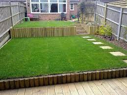 terracing a sloping garden sloped