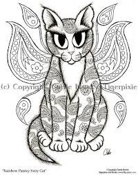 Printable Cat Free Coloring Pages On Art Coloring Pages