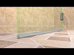 how to replace your frameless shower door sweeps and jambs dulles glass mirror you