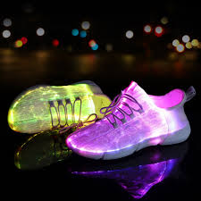 how do light up shoes work