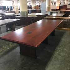 refinished 10 kimball conference table