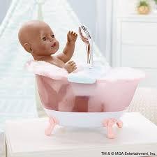bathe baby born in her al foaming bathtub