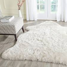 white fur carpet awesome white fur area rug faux fur area rug lovely rugged new