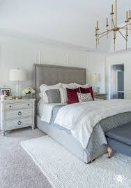 transitional master bedroom. Master Bedroom. Bedroom Makeover With Wall Moldings Transitional