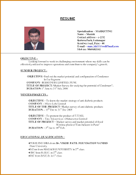 Job Resume Formats Resume Format For Company Job Letter Format Template 21
