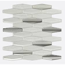 hexagon shape for interior and exterior wall decoration glass tile