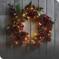 <b>Christmas Decorations</b> - Wreaths, Garlands & Tree Decor | The Range