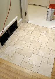 porcelain bathroom floor tile. Creative Tile Flooring Ideas Applied To Your Residence Design: Enjoyable Travertine White Porcelain Bathroom Floor