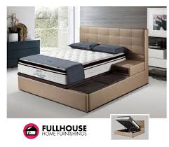Choose the height and size of the mattress you need, and select the bed  frame design you like. There are also options to add front or side storage  drawers ...