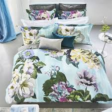 delft flower sky by designers guild bedding